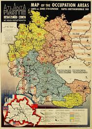 Map Austria Map Of Allied Occupied Germany U0026 Austria Bryars U0026 Bryars