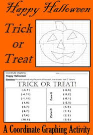 halloween sir spooky a coordinate graphing activity graphing