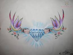 diamond tattoo diamond tattoos tattoo designs tattoos 9