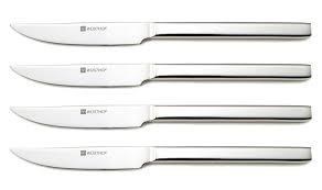 Kitchen Knives Wusthof Wusthof 4 Stainless Steak Set Steak Knife Sets