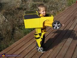 bumblebee transformer homemade halloween costume photo 2 5