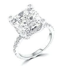 engagement rings australia white gold cz engagement rings ct cushion cut brilliant engagement