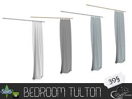 Curtain Side Material Buffsumm U0027s Tulton Bedroom Curtain Half Right Side