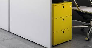 Under Desk Storage Drawers by White Office Storage Xl White Under Desk Drawer Fantoni Uk