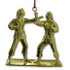 female kumite christmas ornament karate ornaments women u0027s