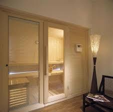 sauna in bagno modelli sauna finlandese e sauna con bagno turco hammam in kit di