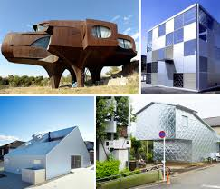 House Of Metal 15 Steel And Aluminum Clad Residences Urbanist Metal Home Designs