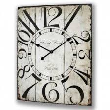 large wood wall square wall clocks large foter