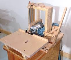 Bench Mortise Machine Thinking About Having Two Removable Tops For The Router Table I U0027m