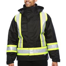work king high visibility lined 5 in 1 jacket jcpenney