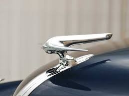 1937 lincoln zephyr ornament view