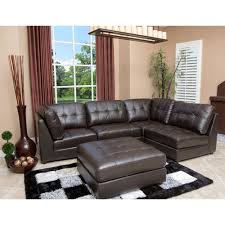 Top Grain Leather Sectional Sofas Amazing Modular Sectional Sofa Leather Calvin 5 Top Grain