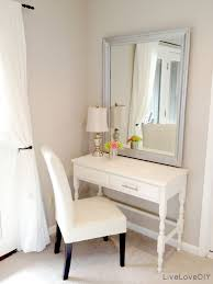 how to make vanity desk thrift store desk turned bedroom vanity table seen here