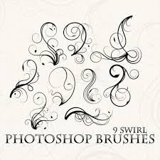 swirls photoshop brushes flourish photoshop brushes