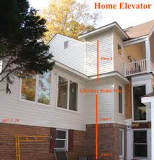 elevator for house home elevator hoist way on outside of house complete 100 jpg