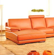 Modern Leather Sectional Sofa Divani Casa 2227 Modern Leather Sectional Sofa