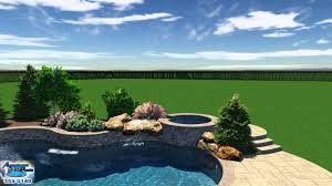 aquascapes pools orme pool studio 3d aquascape pools design youtube