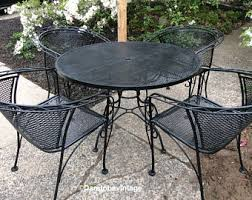 Vintage Iron Patio Furniture Best Vintage Wrought Iron Patio - Outdoor iron furniture