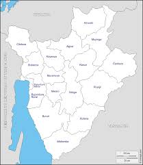 Burundi Africa Map by Burundi Free Map Free Blank Map Free Outline Map Free Base Map