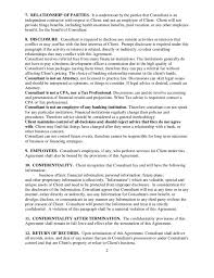 consulting and retainer agreement free download