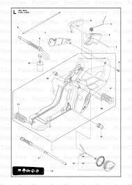 husqvarna 450 husqvarna chainsaw 2011 07 fuel tank diagram and