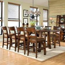 solid wood counter height dining table u2013 mitventures co