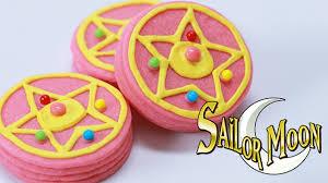 sailor moon brooch pinata cookies nerdy nummies youtube