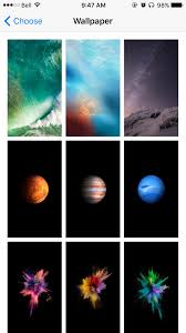 ipad earth wallpaper missing apple s wallpaper selection in ios 11 is just abysmal business insider
