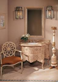 French Powder Room Light Airy Arizona Home Inspired By French Interiors