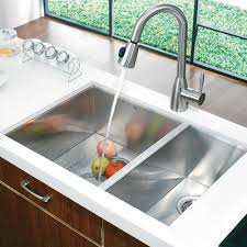 Vigo  Double Bowl Zero Radius Stainless Steel Undermount - Double kitchen sink