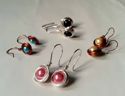 wire earrings diy bead earrings 5 steps with pictures