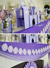 kara u0027s party ideas sofia the first inspired princess party via