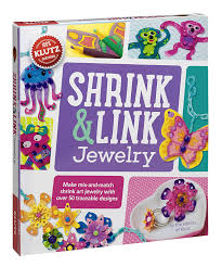 amazon com klutz shrink u0026 link jewelry craft kit the editors of