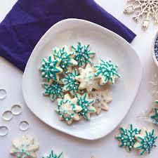 snowflake sugar cookies how to decorate snowflake sugar cookies seasonly creations