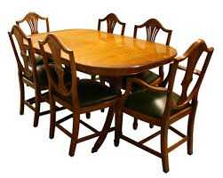 Yew Dining Table And Chairs Reproduction Bow And D End Dining Tables Yew And Mahogany A1