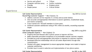 customer service call center resume sample resume templates call