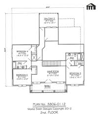 5 Bedroom Floor Plans 2 Story Plan No 3806 0112