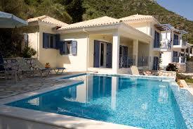 villa photos two greek villas photos