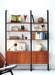 Dark Bookcase Modern Wood Bookcase U2013 Smartonlinewebsites Com