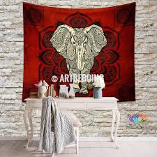 Wall Tapestry Hippie Bedroom Elephant Tapestry Mandala Wall Tapestry Hippie Tapestry Wall