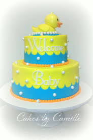 51 best baby shower cakes images on pinterest rubber ducky baby