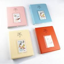 High Capacity Photo Albums High Capacity 3 Inch 128 Pockets Photo Album For Polaroid Newchic