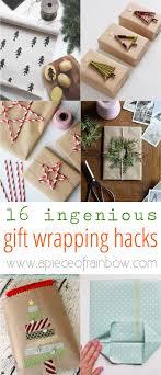 gift wraps 16 ingenious gift wrapping hacks gaveindpakning indpakning og gaver