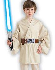 Anakin Halloween Costume Luke Skywalker Costume Kids Ebay