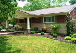 landscaping ideas for ranch style house