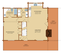 Floor Plans For Log Cabins Clear Creek Log Home Package Special Offer