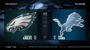 2015 nfl thanksgiving sim philadelphia eagles vs detroit lions