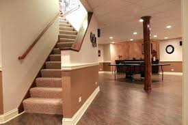 Diy Basement Flooring Basement Flooring Options Concrete Diy Image Of Uneven