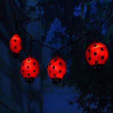 Ladybug Solar Garden Lights - 12 best solar string light images on pinterest string lights
