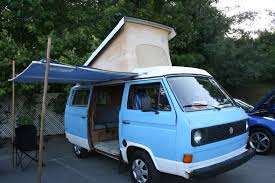 vw minivan camper our campground
